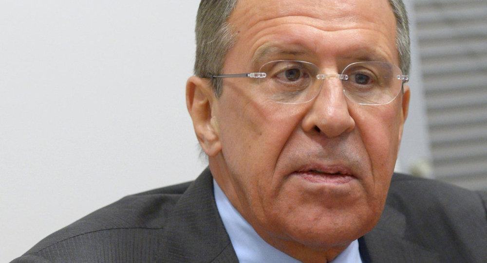 Ministro de Asuntos Exteriores de Rusia, Serguéi Lavrov