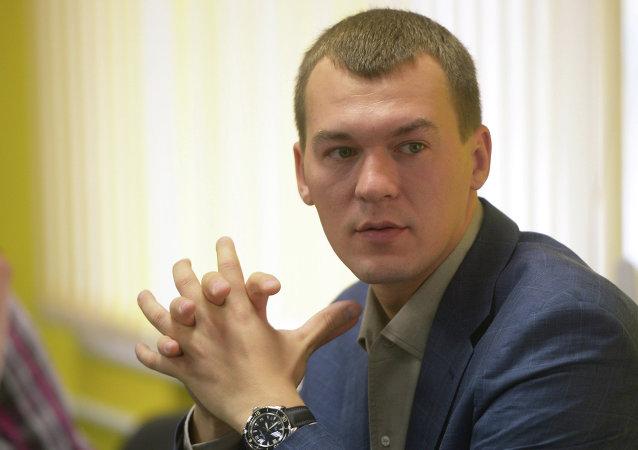 Mijaíl Degtiariov, diputado por el Partido Liberal Democrático de Rusia