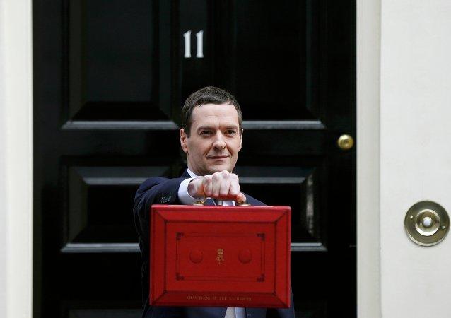 George Osborne, ministro del Tesoro de Reino Unido