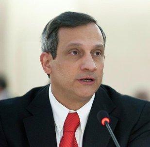 Rodolfo Reyes Rodríguez, embajador del Cuba ante la ONU