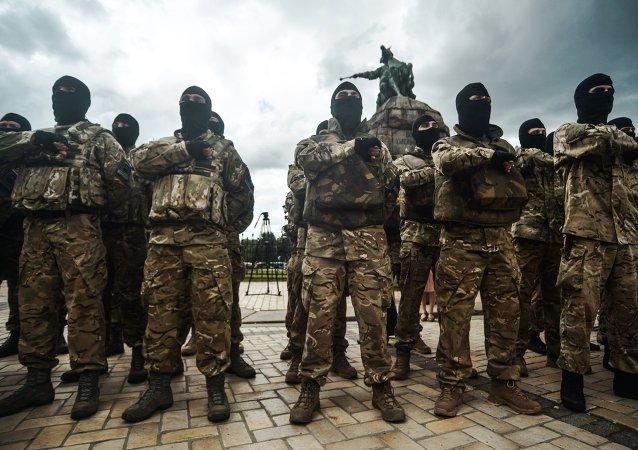 EEUU entrenará a combatientes de la Guardia Nacional ucraniana