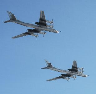 Bombarderos estratégicos rusos Tu-95