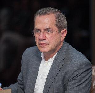 Ricardo Patiño, excanciller ecuatoriano (archivo)