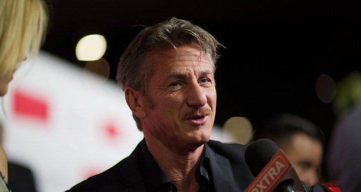 El actor Sean Penn