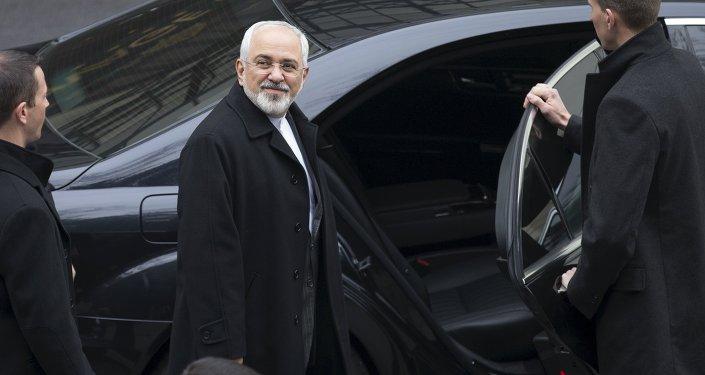 Mohamad Yavad Zarif, ministro de Asuntos Exteriores de Irán