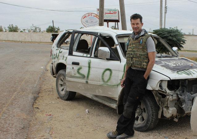 John Cantlie, fotoperiodista británico
