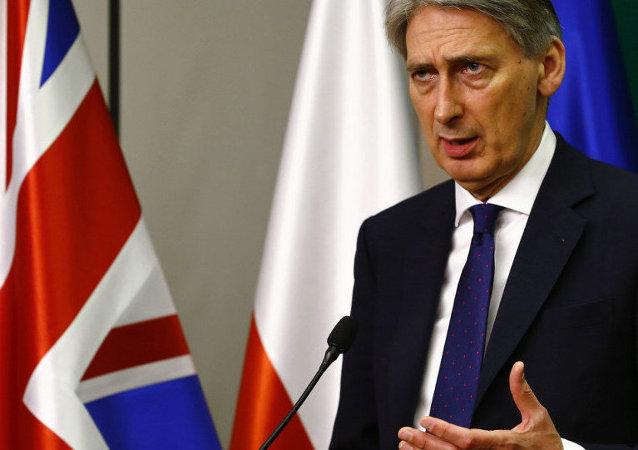 Ministro de Asuntos Exteriores británico Philip Hammond