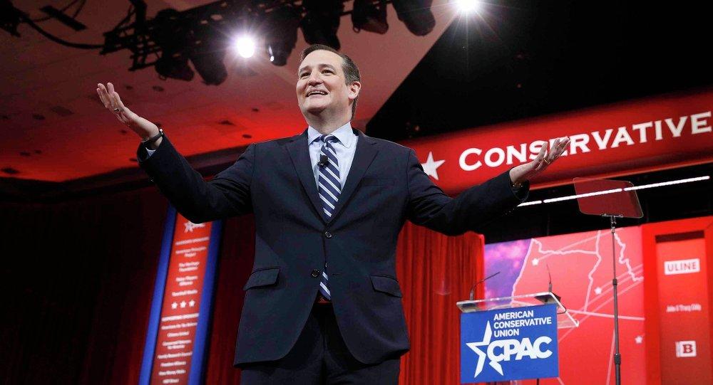 Ted Cruz, senador republicano del estado de Texas