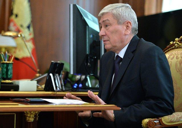 Yuri Chijanchin, director del servicio federal de vigilancia financiera, Rosfinmonitoring