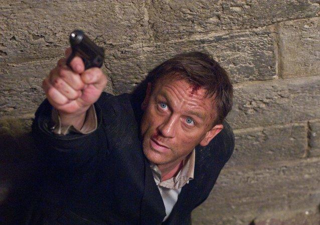Daniel Craig interpreta a James Bond en una escena de Quantum of Solace