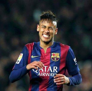 Neymar, jugador del F.C. Barcelona