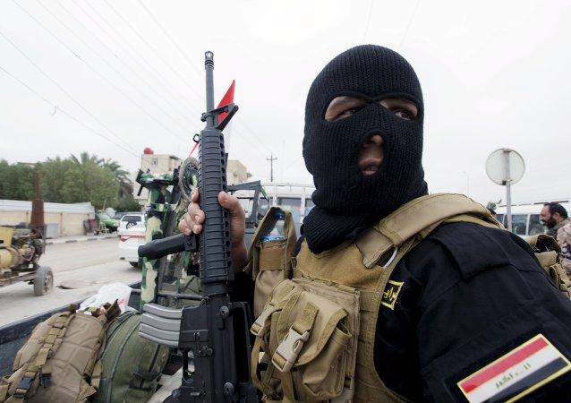 Un combatiente chiíta
