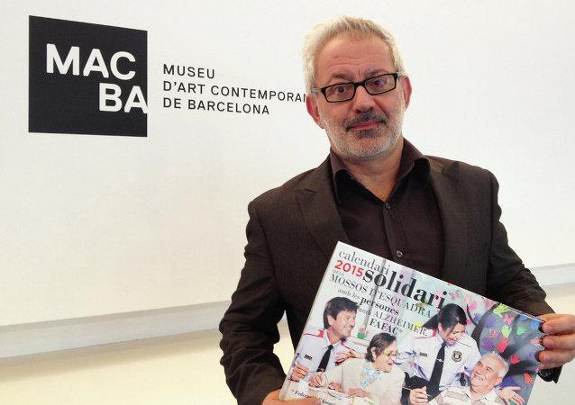 Bartomeu Marí, director del Museo de Arte Contemporáneo de Barcelona (Macba)