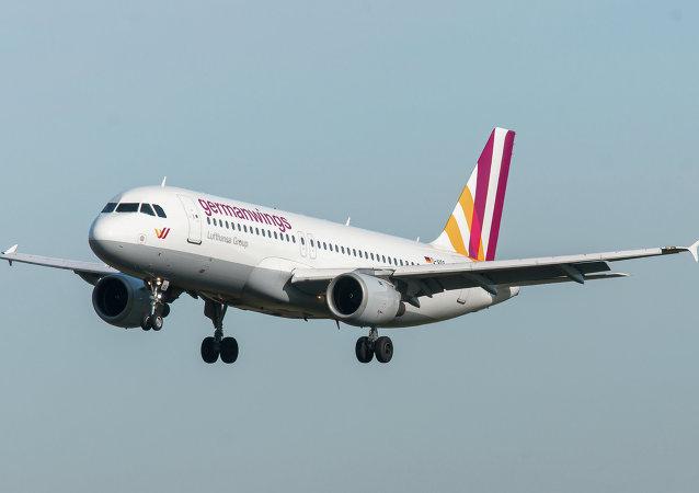 Airbus A320 de compañía Germanwings (Archivo)