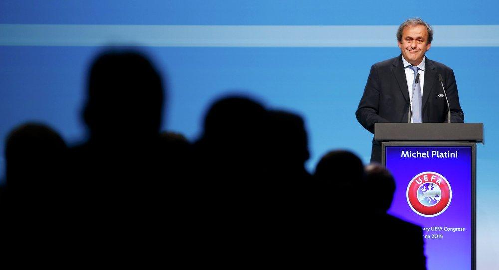Michel Platini, el expresidente de UEFA (archivo)