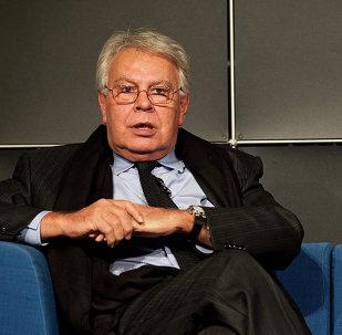 Felipe González, expresidente de España