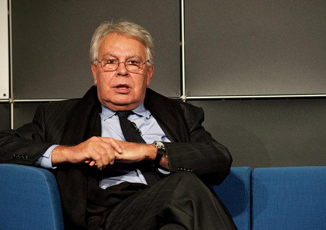 Felipe González, expresidente español