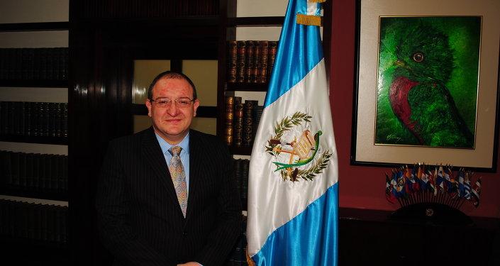 Министр иностранных дел Гватемалы Фернандо Каррера