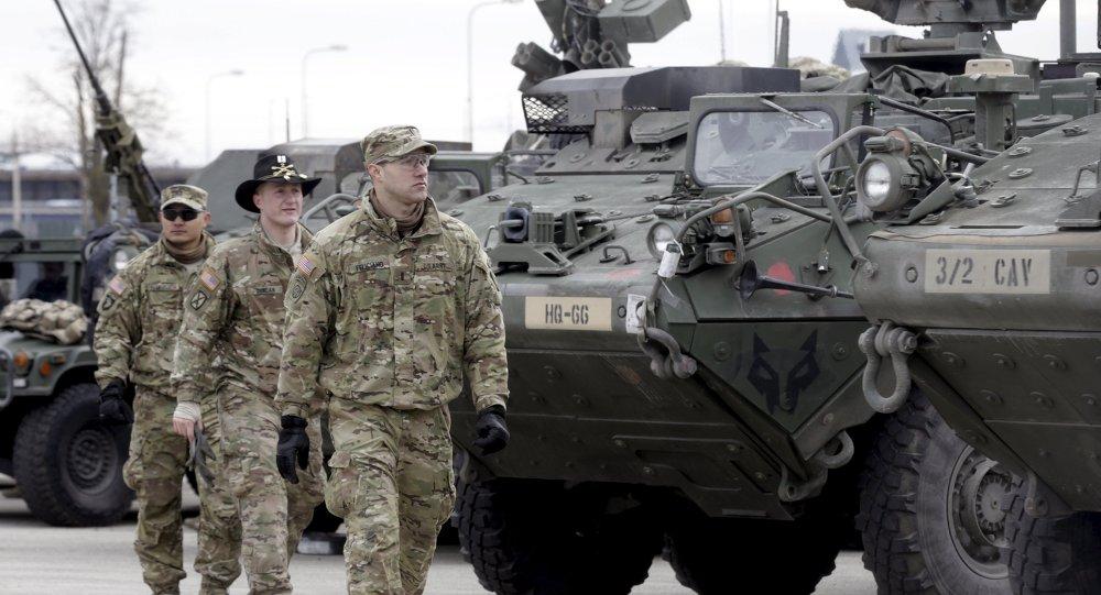 Militares estadounidenses en Estonia (archivo)