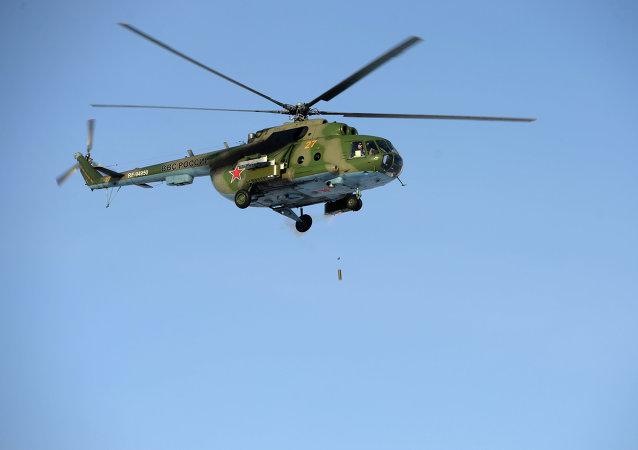 Helicóptero Mi-8 (archivo)