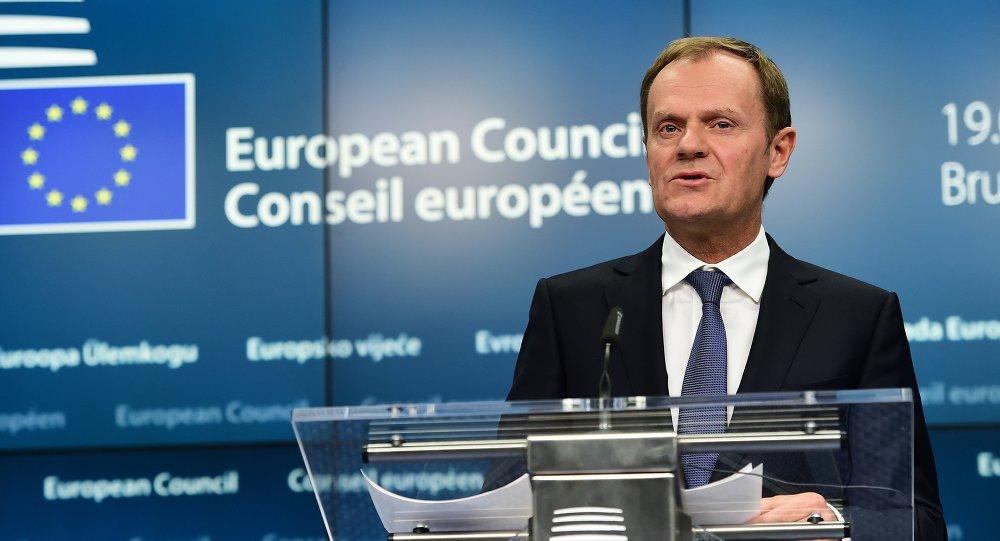 Tusk montenegro act a como si fuera miembro de la ue for Presidente del consejo europeo