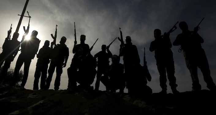 Militantes palestinos (archivo)