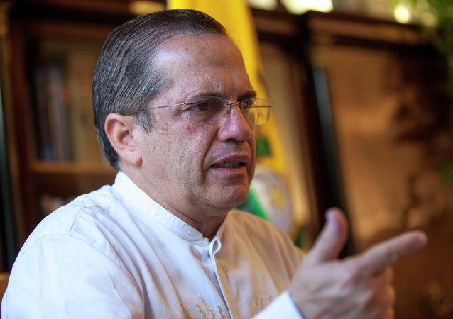 Ricardo Patiño, ministro de Relaciones Exteriores de Ecuador