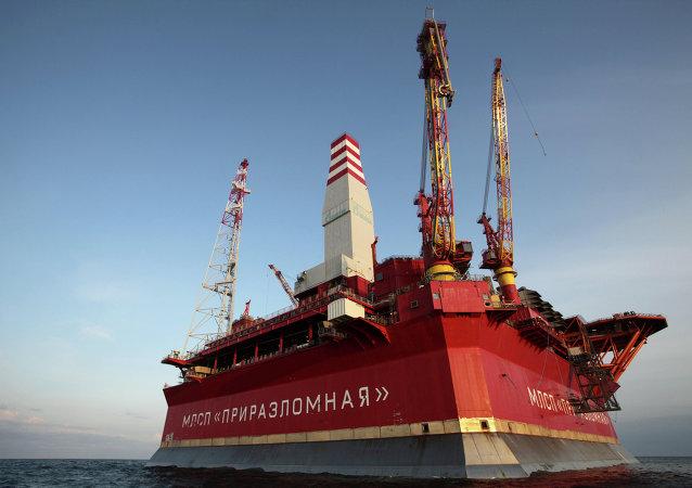 Plataforma petrolera Prirazlomnaja