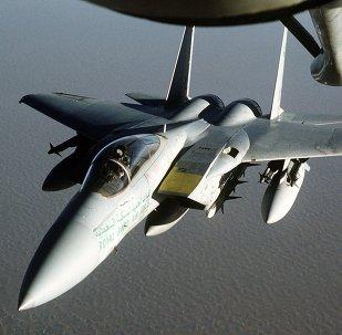 Avión F-15 de Arabia Saudí (imagen referencial)