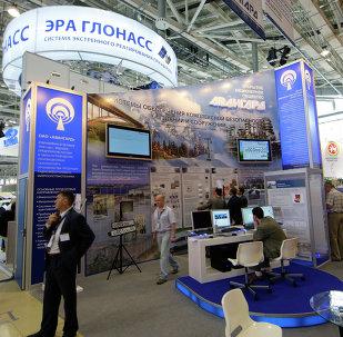 ERA GLONASS en la apertura del Salón Internacional (archivo)