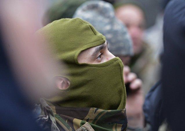 Efectivos del batallón Aidar (Archivo)