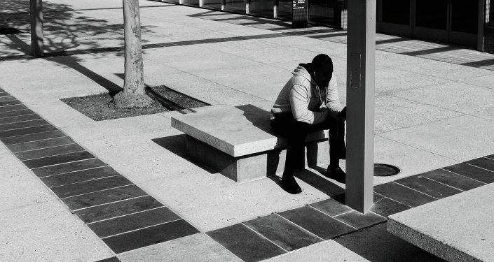 Un chico negro (imagen referencial)