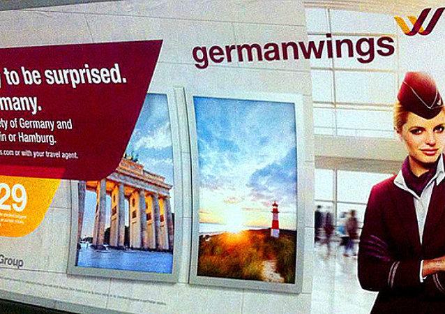Germanwings retira en Londres un cartel con el lema 'Prepárate para una sorpresa'