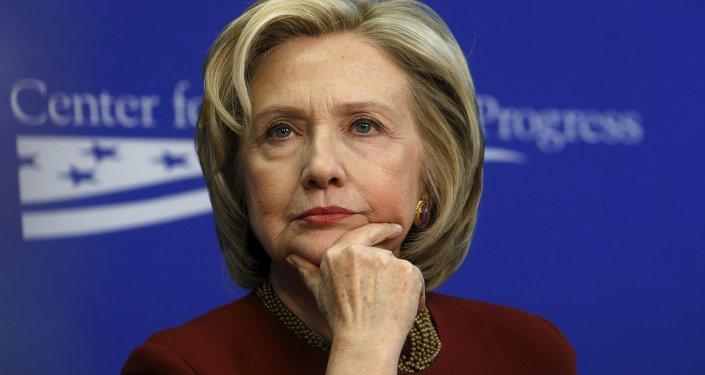 Hillary Clinton, ex Secretaria del Departamento de Estado de EEUU