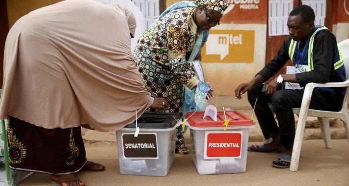 Elecciones en Nigeria