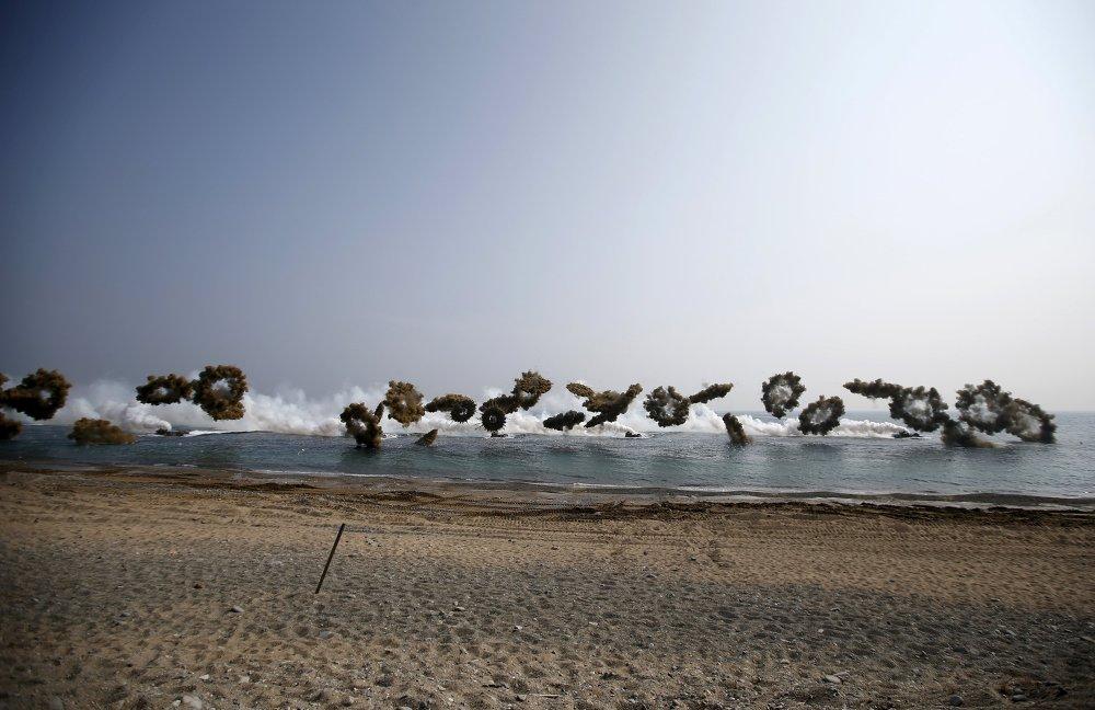 EEUU y Corea del Sur inician maniobras militares conjuntas Foal Eagle