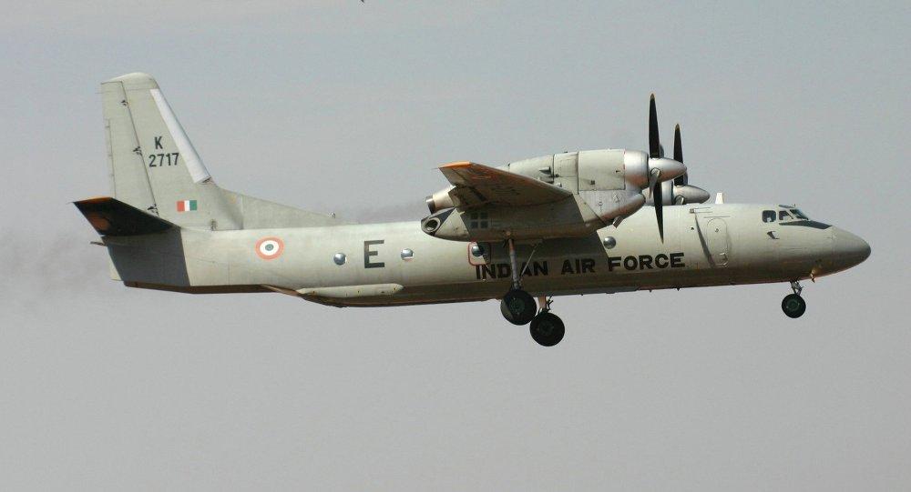Avion de transporte militar An-32 de la Fuerza Aérea india