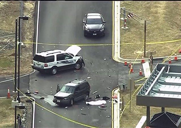 Muere un asaltante en Maryland tras un tiroteo a las puertas de la NSA