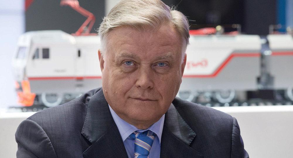 Vladímir Yakunin, jefe del monopolio ferroviario ruso RZhD