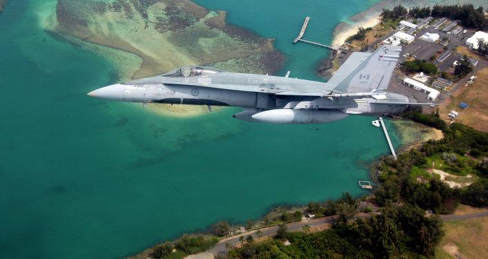 CF-18 Hornet de las Fuerzas Canadienses (imagen referencial)