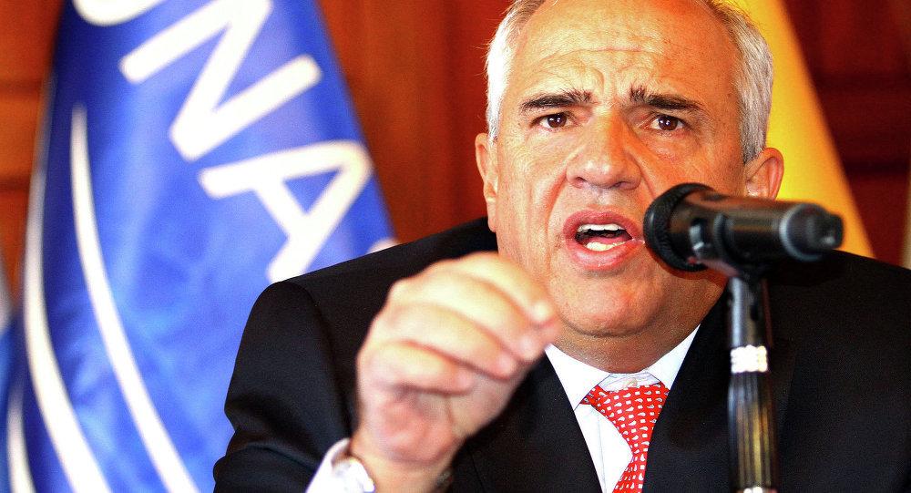 Ernesto Samper, exsecretario general de la Unasur (archivo)