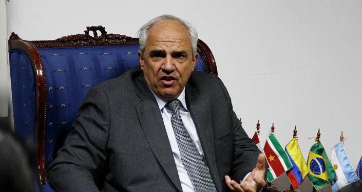 Ernesto Samper, secretario general de la Unión de Naciones Suramericanas (Unasur)