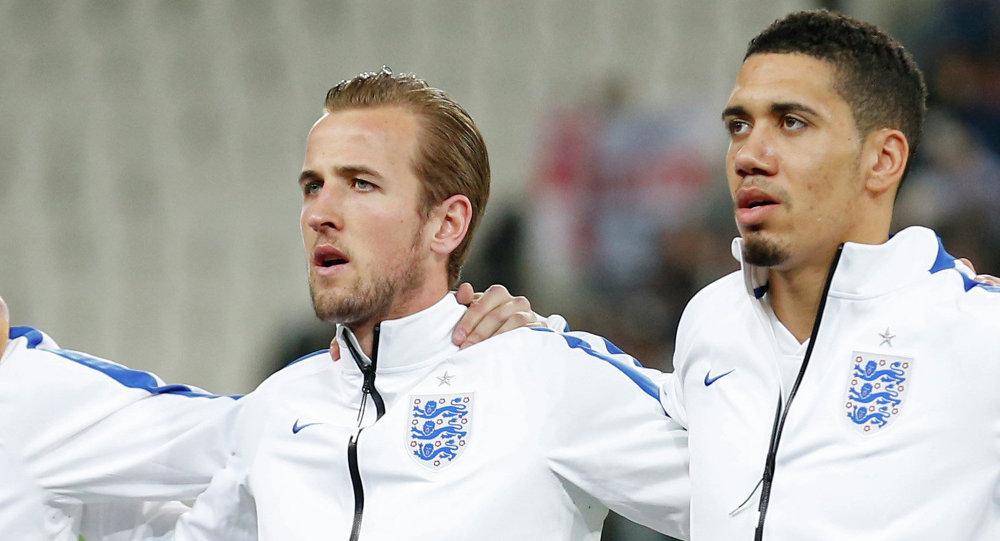 Harry Kane y Chris Smalling, jugadores la Selección Absoluta de Inglaterra
