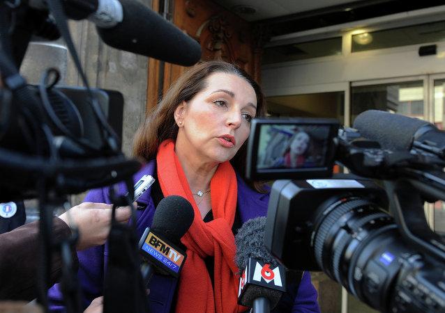 Valérie Boyer, diputada de la Unión por un Movimiento Popular (UMP)