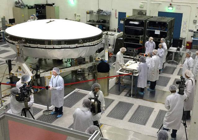 La NASA volverá a ensayar el aterrizaje de su 'platillo volador' en Marte