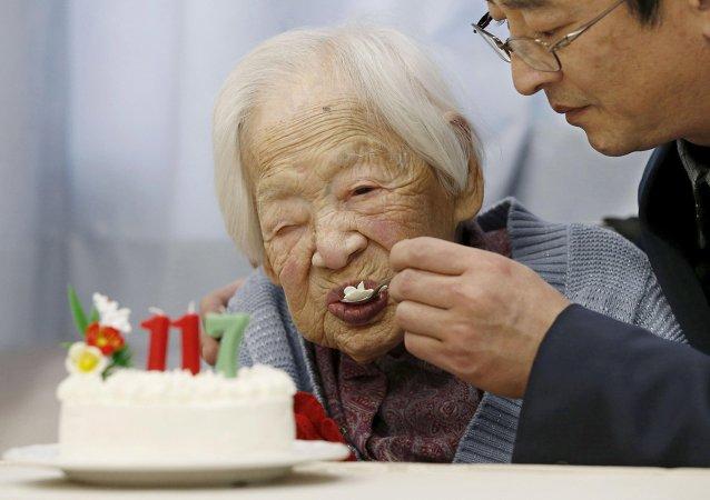 Misao Okawa, persona más vieja del planeta