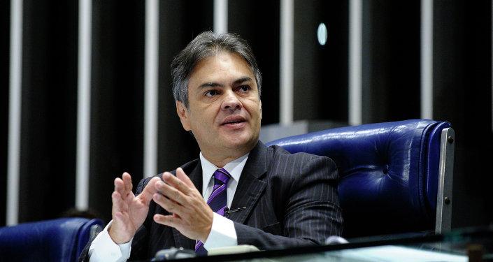 Cassio Cunha Lima, senador del Partido de la Social Democracia de Brasil (PSDB)