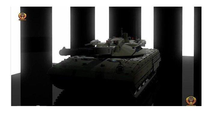 El tanque ruso supersecreto Armata, en 3D