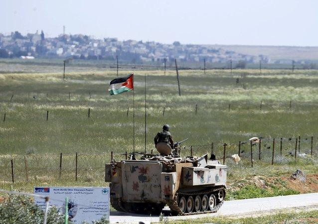 Frontera de Jordania y Siria (archivo)