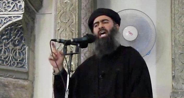 Abu Bakr Al-Baghdadi, líder de Daesh (archivo)